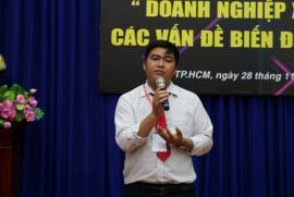 Quán quân Nhân văn Nguyễn Thành Gia tiếp lửa đam mê khởi nghiệp tại lễ phát động cuộc thi Hult Prize