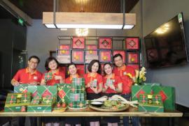 Bánh chưng Sum Vầy của Sài Gòn Food sản xuất bằng công nghệ hiện đại có thời hạn sử dụng đến 3 tháng