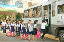 Bình Dương: Yêu cầu trường học báo cáo giải pháp an toàn dịch vụ ô tô đưa đón học sinh