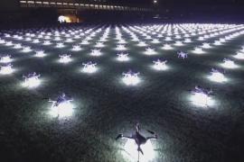 Máy bay không người lái tại Trung Quốc xác lập kỷ lục Guinness cho màn đồng diễn lâu nhất